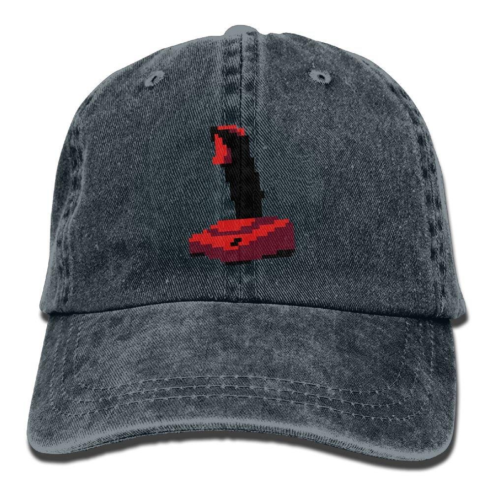 Caramel SID Classic Running Visor Mosaic Gaming Joystick Outdoor Trucker Hat For Adult Ash