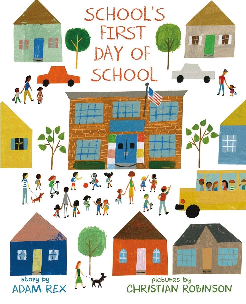 School's First Day of School by Roaring Brook Press (Image #1)