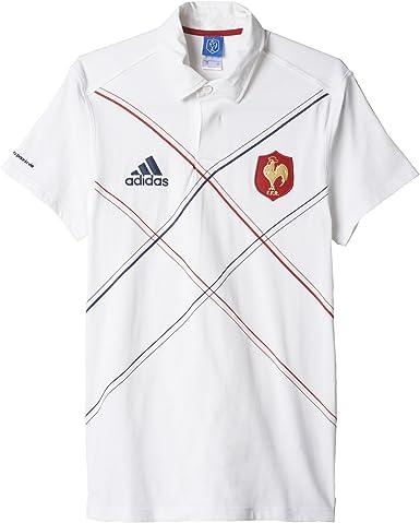 adidas FFR Francia Rugby Camiseta: Amazon.es: Ropa y accesorios