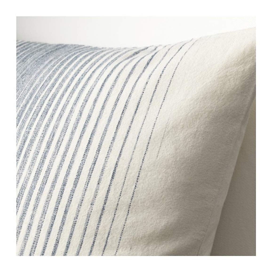 Amazon.com: IKEA Ispigg Cushion Cover Blue Natural 504.024 ...