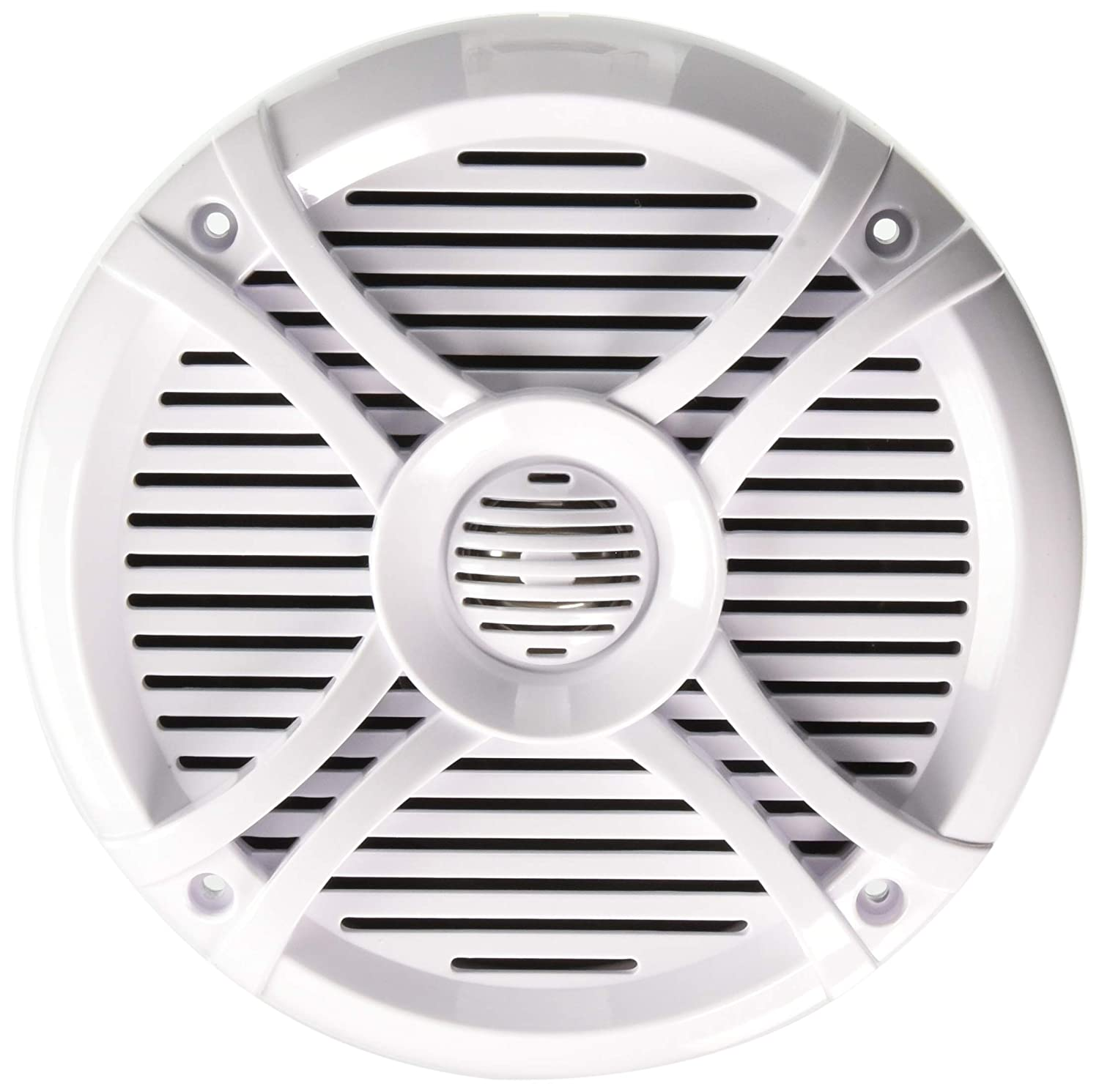 Rockville Rmsts65w Pair 6.5-Inch 800 Watt Waterproof Marine Boat Speakers 2-Way White Audiosavings