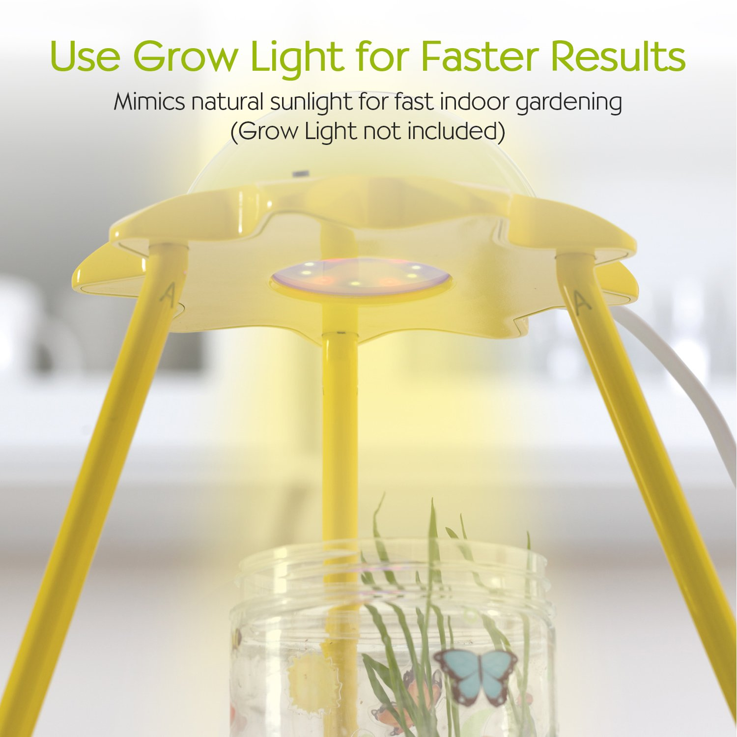Creativity for Kids Grow 'n Glow Terrarium - Science Kit for Kids by Creativity for Kids (Image #5)