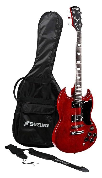 Suzuki sgs2wr guitarra eléctrica Hard Rock