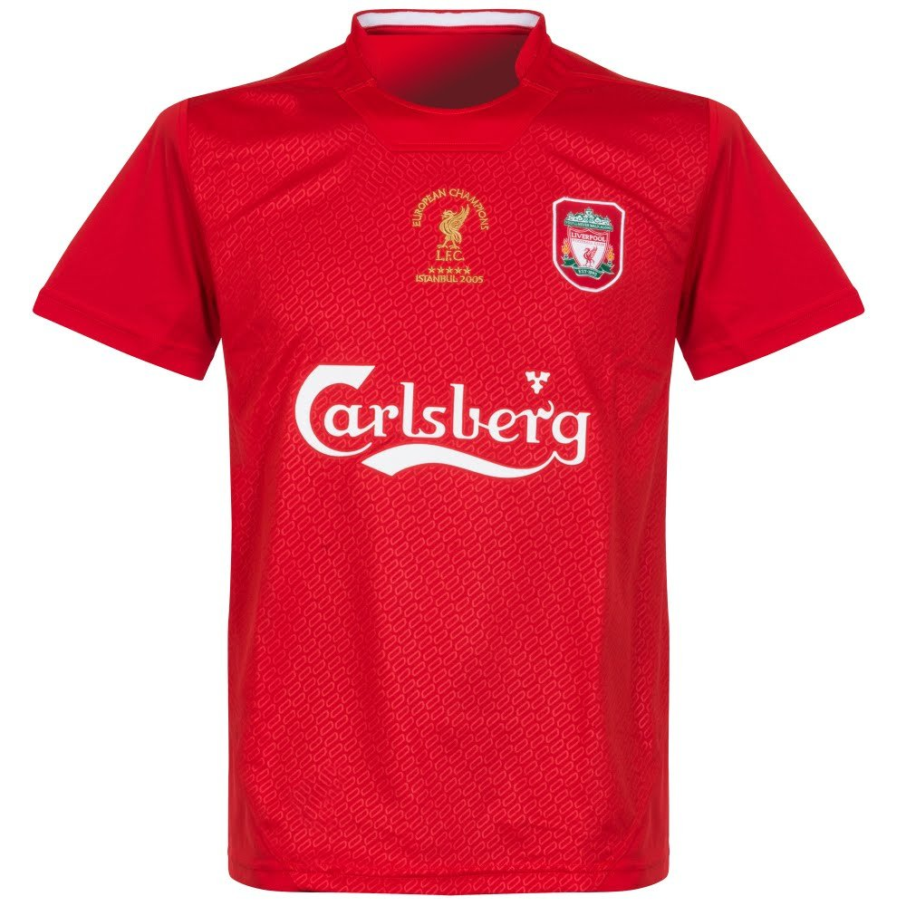 Liverpool FC Liverpool FC Istanbul 2005 Shirt Official Liverpool F.C.