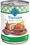 Blue Buffalo Family Favorite Canned Dog Food, Turducken (Pack of 12 12.5-Ounce Cans)