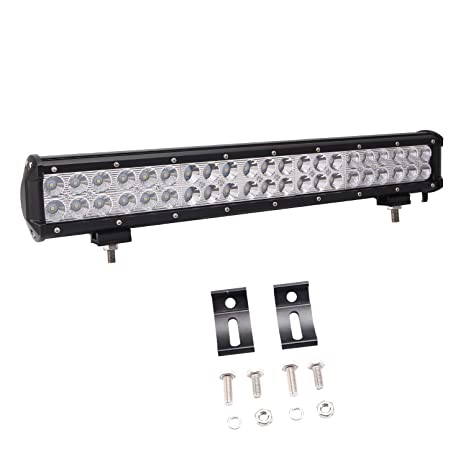 Amazon led light bar glotech 20 126w cree offroad light bar led light bar glotech 20quot 126w cree offroad light bar spot flood combo beam aloadofball