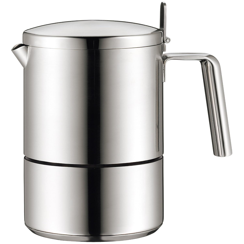 WMF Cold Brew Kanne, mit Honeycomb Gläser, Cold Brew Kaffeezubereiter Set, Glas Waben-Design, hitzebeständig, spülmaschinengeeignet mit Honeycomb Gläser hitzebeständig spülmaschinengeeignet WMF Group GmbH