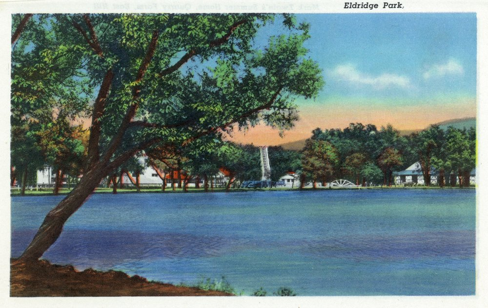 Elmira、ニューヨーク – ビューのEldridge公園 24 x 36 Giclee Print LANT-18526-24x36 B017ZJ3N16  24 x 36 Giclee Print