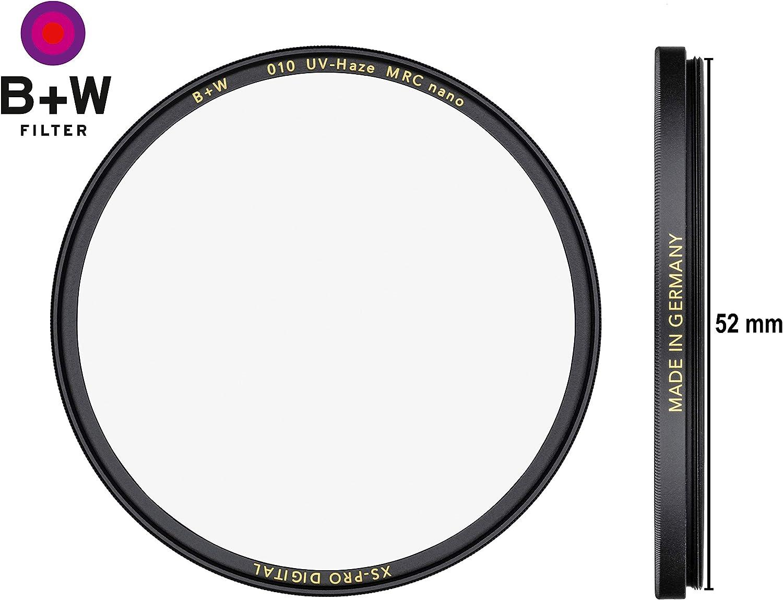 B W BW b/&w Schneider Kreuznach filtro UV MRC 52 mm 52mm XS-Pro XSP NANO SLIM