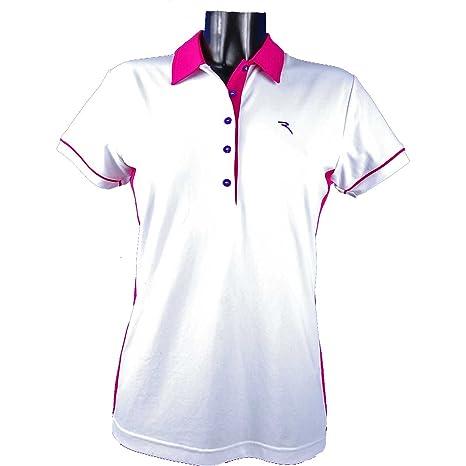 Chervo Svezia Golf Mujer Polo Camisa Polo Dry Matic Angier Blanco ...