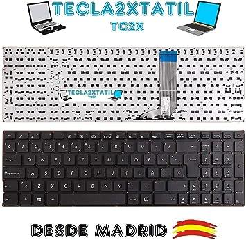 TECLA2XTATIL TC2X Teclado para portatil ASUS F556U Series ...