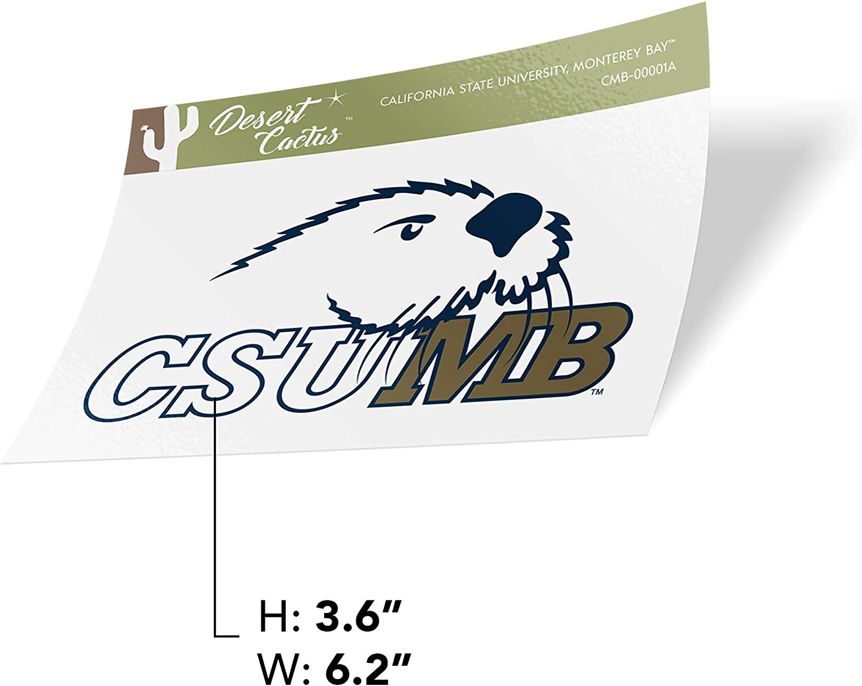 California Cal State University Monterey Bay CSUMB Otters NCAA Vinyl Decal Laptop Water Bottle Car Scrapbook Sticker - 00001A