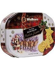 Walkers Pure Butter Shortbread-Festive Shapes Cookies, 350 Gram