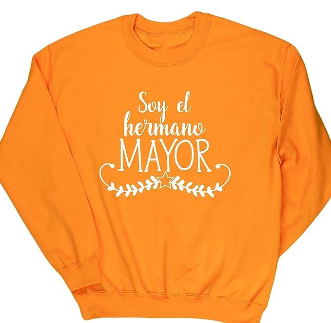 HippoWarehouse Soy El Hermano Mayor jersey sudadera suéter derportiva unisex