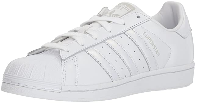 adidas Originals Women's Superstar Shoes Running WhiteGrey, 11 M US
