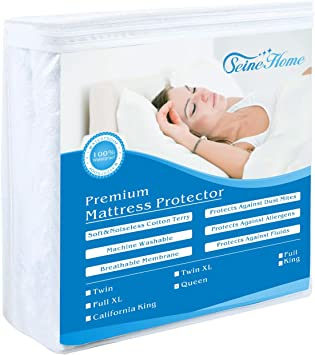 LAURALAND Mattress Protectors Twin XL Size Hypoallergenic Waterproof Premium