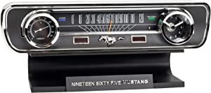Ford Mustang Sound Clock Thermometer