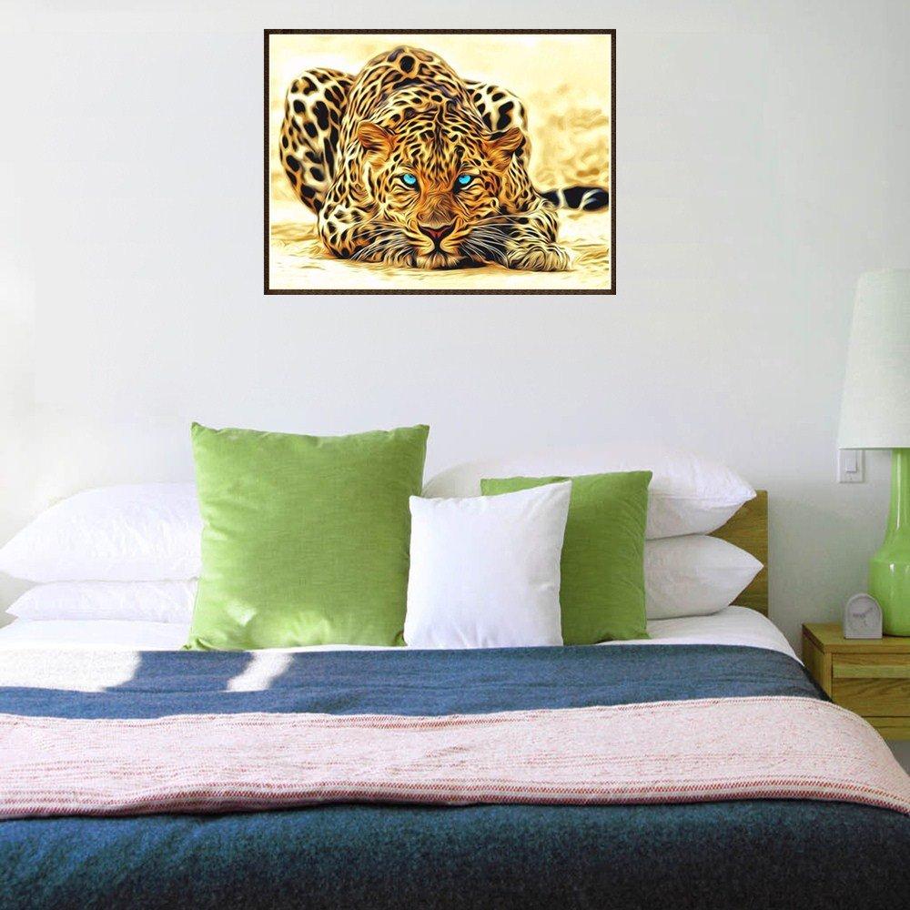 Cindero 5D Gold Series Invierno 嘘 Cuadrado Completo Bordado Pintura Rhinestone Pasta DIY Diamante Pintura Animal Gato Perro Tigre