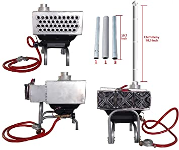 Safe Propane Heater for Tents. Hot Vent Tent Stove Portable Heater. For C&ing Living Outfitter Winter Hunting Fishing Outdoor Tent.  sc 1 st  Amazon.ca & Safe Propane Heater for Tents. Hot Vent Tent Stove Portable Heater ...