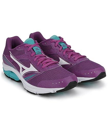 96edbafb3b1a Mizuno J1GF151301-3 Wave Impetus Running Shoes, Women's UK 5 (Hyacinth  Violet/