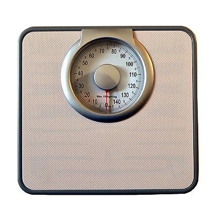 Básculas Digitales Retro Básculas mecánicas de baño Báscula de pesaje electrónica Adulto Saludable Resistente Capacidad de180kg