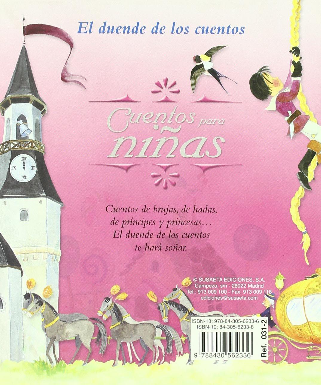 Cuentos para niñas (El Duende de los Cuentos) (Spanish Edition): Inc.  Susaeta Publishing: 9788430562336: Amazon.com: Books