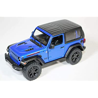 2020 Jeep Wrangler Rubicon Hard Top Blue - Kinsmart P/B: Toys & Games