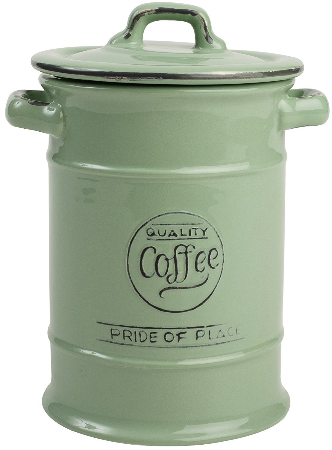 Pride of Place Coffee Jar (Green)