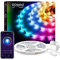 Gosund 5M Tiras LED Alexa, Luces LED 5050 RGB WiFi, Tira Led Inteligente Control Remoto por App, Sincronizar con Música…