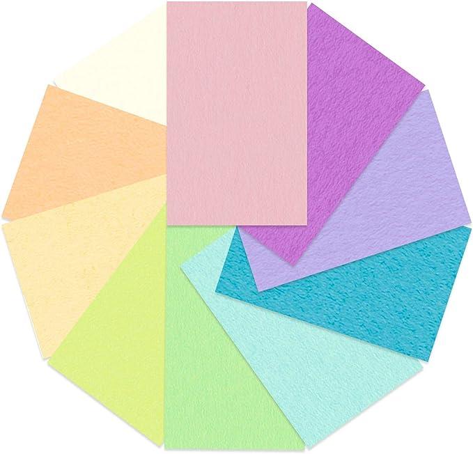 DIN A4 Format aus durchgef/ärbter Frischzellulose 100 Blatt sortiert in 10 Farben hohe Farbbrillanz und Lichtbest/ändigkeit URSUS 2314699 Tonzeichenpapier Pastell 130 g//m/²