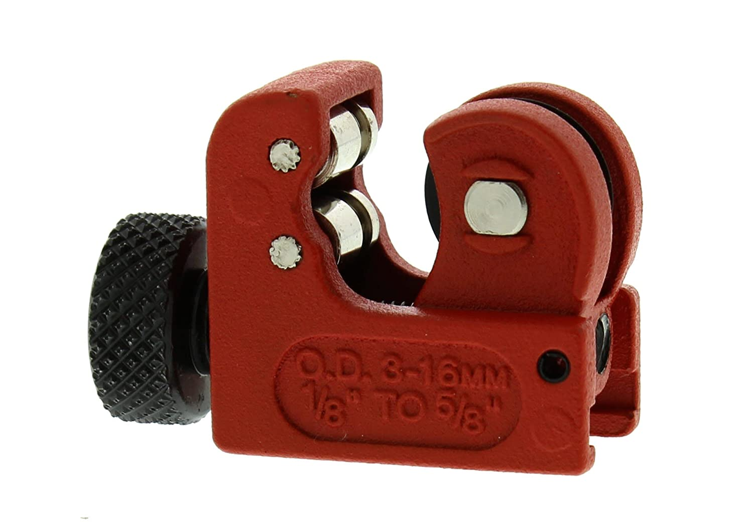 """ABN Mini Pipe and Tube Cutter, 1/8""""-5/8"""" (3mm-16mm) Cutting Capacity – For Small Spaces/Tubing"""