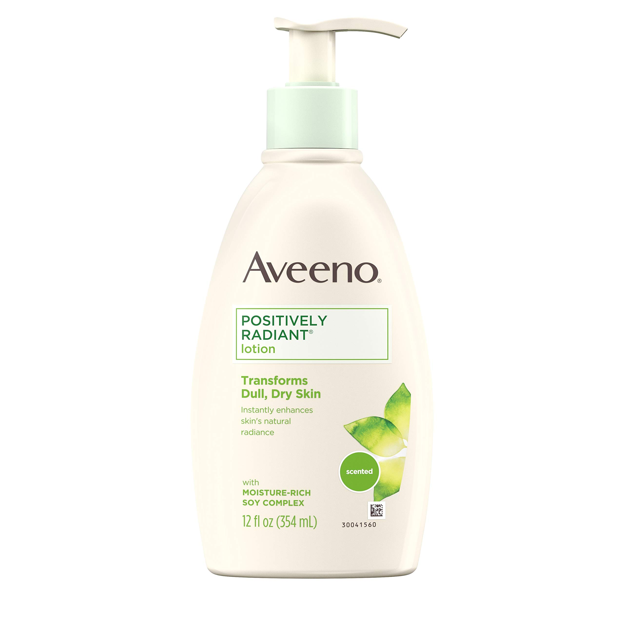 Aveeno Positively Radiant Body Lotion, 12 Fl. Oz (Pack of 3) by Aveeno