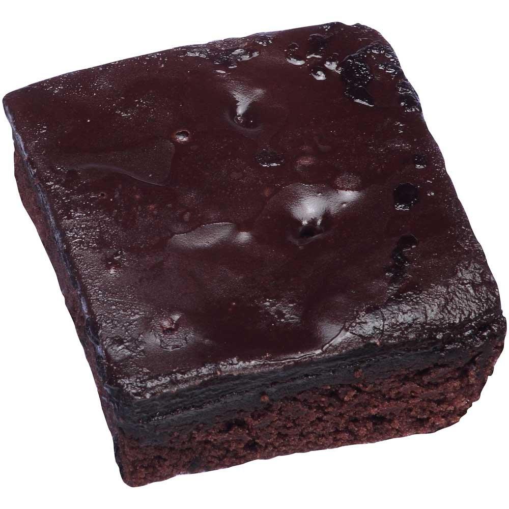 Sara Lee Iced Double Chocolate Cake, 2.25 Ounce - 24 per case.