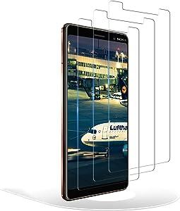 RIIMUHIR Protector de Pantalla para Nokia 7 Plus,Cristal Templado Nokia 7 Plus,Vidrio Templado 9H Dureza 3D Touch Compatible para Nokia 7 Plus, 3 Unidades