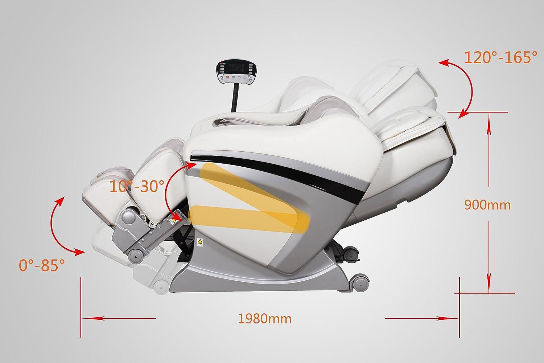 BestMassage Black Zero Gravity Shiatsu Massage Chair