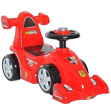 Homcom - Coche de carreras infantil, diseño de Fórmula 1 ...