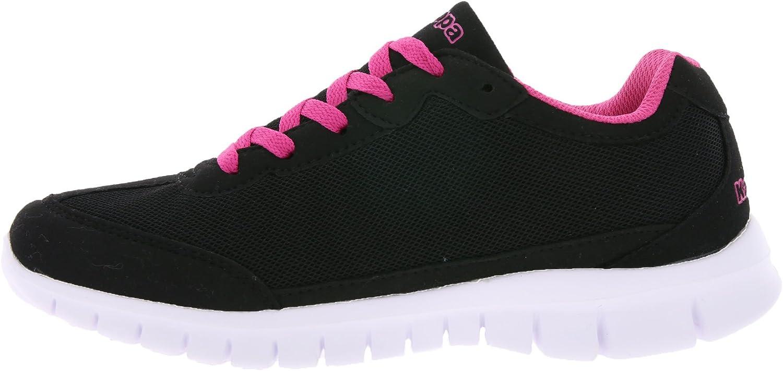 Zapatillas de Deporte Kappa Sneaker para Mujer Negras, tamaño:38 ...