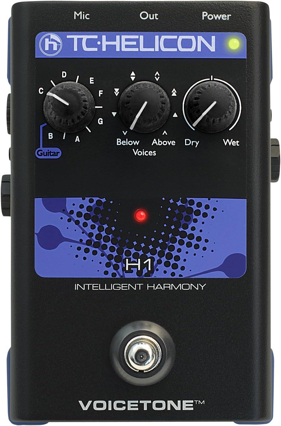 TC Electronics Singles VoiceTone H1 Vocal Effects Processor