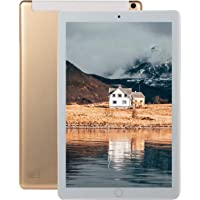 AKDSteel 10.1 inch 8+128GB 4G-LTE Tablet PC IPS HD Screen Dual Card Phone Call Tablet PC Golden AU Plug with Delicate Designed