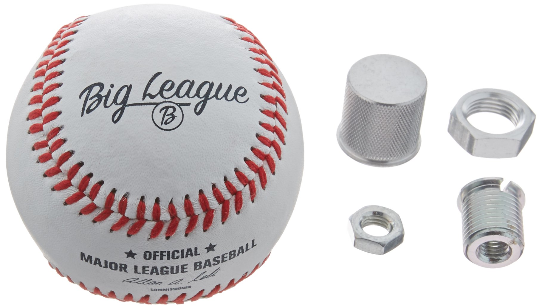 American Shifter 159051 Baseball Transmission Gear Shift Knob with M8 x1.25 Insert by American Shifter