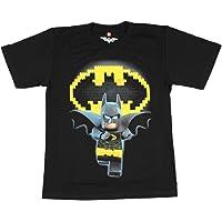 Bioworld Lego Batman Youth Boys Black T-Shirt