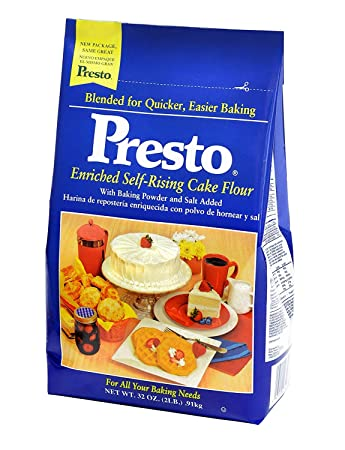 Amazon.com : Presto, Self Rising Flour, 2 Lb : Grocery ...
