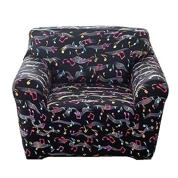 WENYAO Fundas de sofá elásticas Impresas, Juegos de sofás Todo Incluido Protector para Sofás antirresbaladiza Sofa Cover Muebles 1-4 plazas / 90-140cm ...