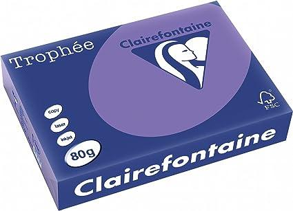 A4 80 g//m/² Ramette de 500 feuilles de papier Troph/ée ivoire Lot de 5