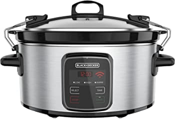 Black & Decker Crock Pot 6-Quart Slow Cooker
