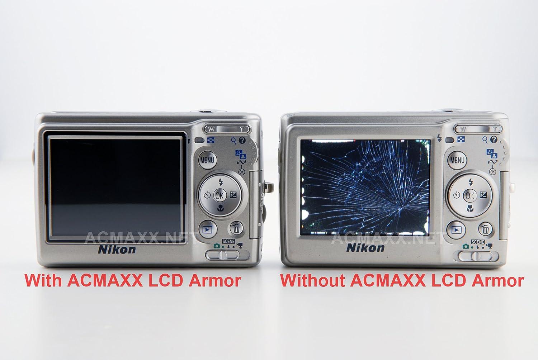 ACMAXX 3.2 Hard Top and Main LCD Screen Armor Protector for Pentax K1 K-1 Mark II Mark2