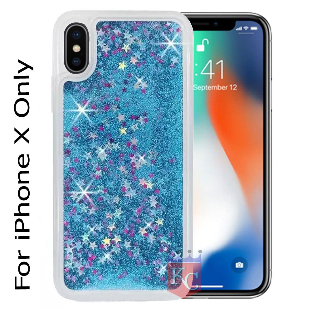 ccb62ef5a2e7 KC Liquid Flowing 3D Bling Glitter Star Case  Amazon.in  Electronics