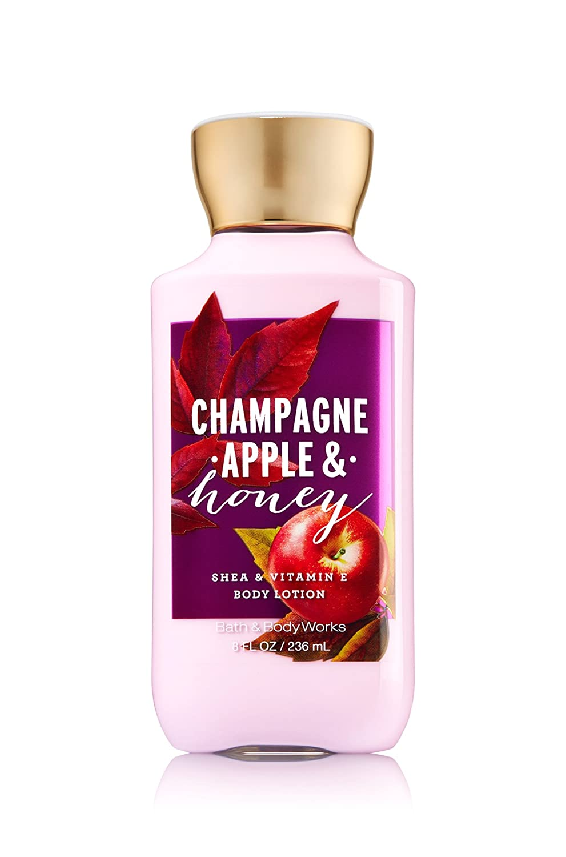 Bath and Body Works Body Lotion Champagne Apple & Honey. 8 Oz