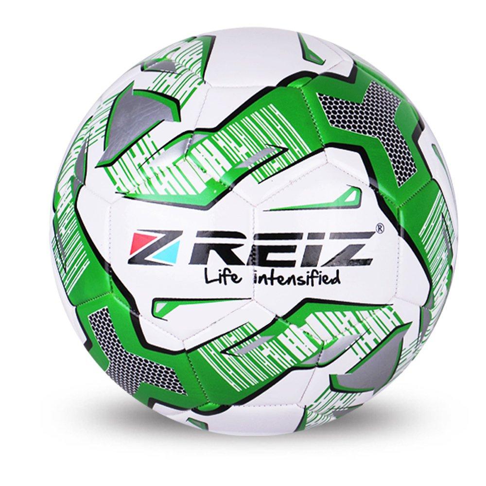 B07BJXX33X with針、公式サイズ5 runacc標準トレーニングサッカーボールプレミアムPUレザーサッカーボールFootball