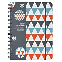 Mod Flags 2018 Weekly Note Planner Spiral Bound